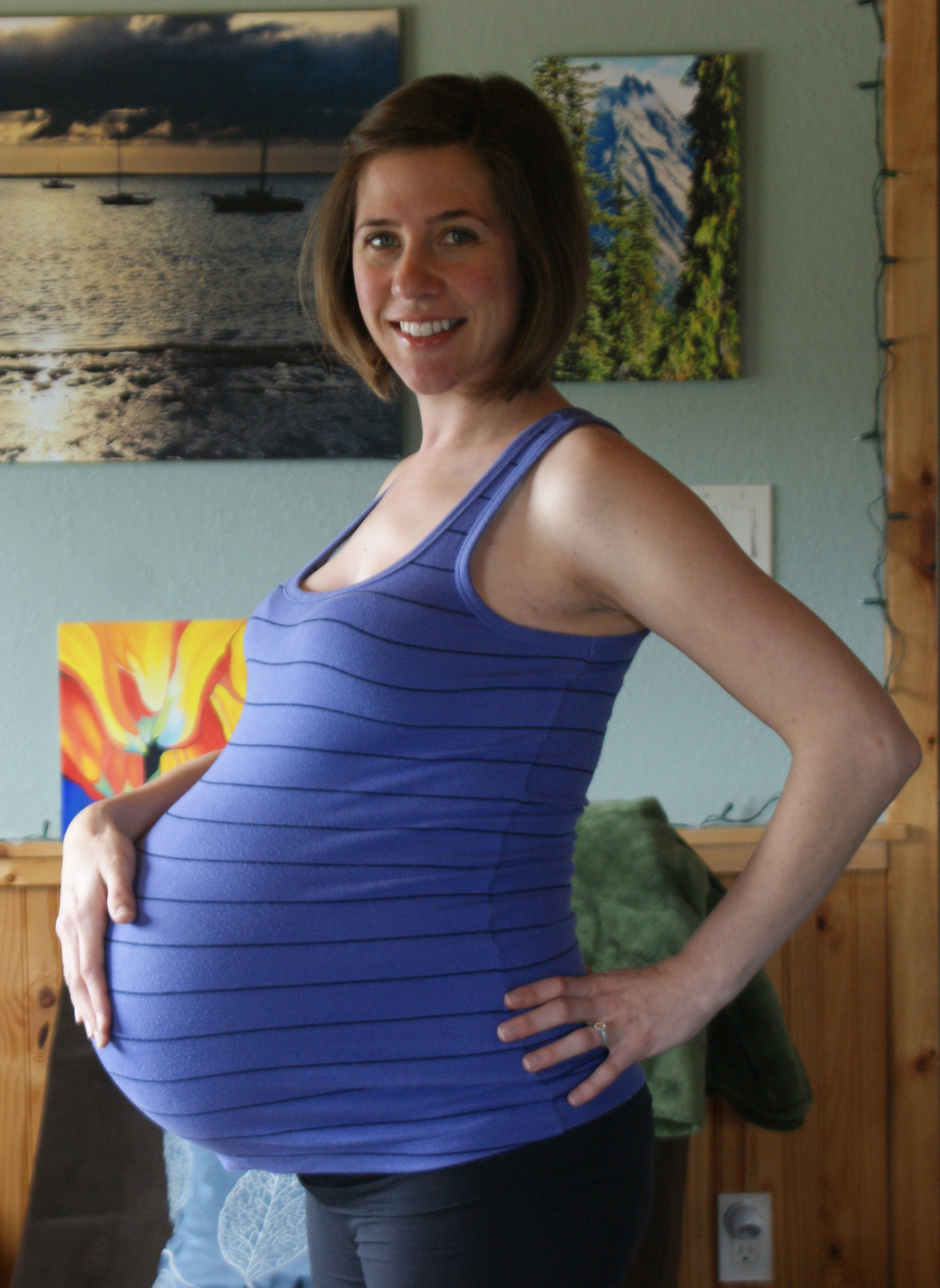 30 Weeks - Twins Belly
