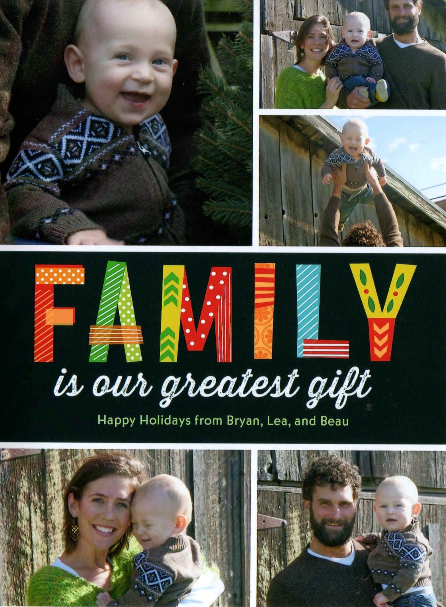 Family Is Our Greatest Gift