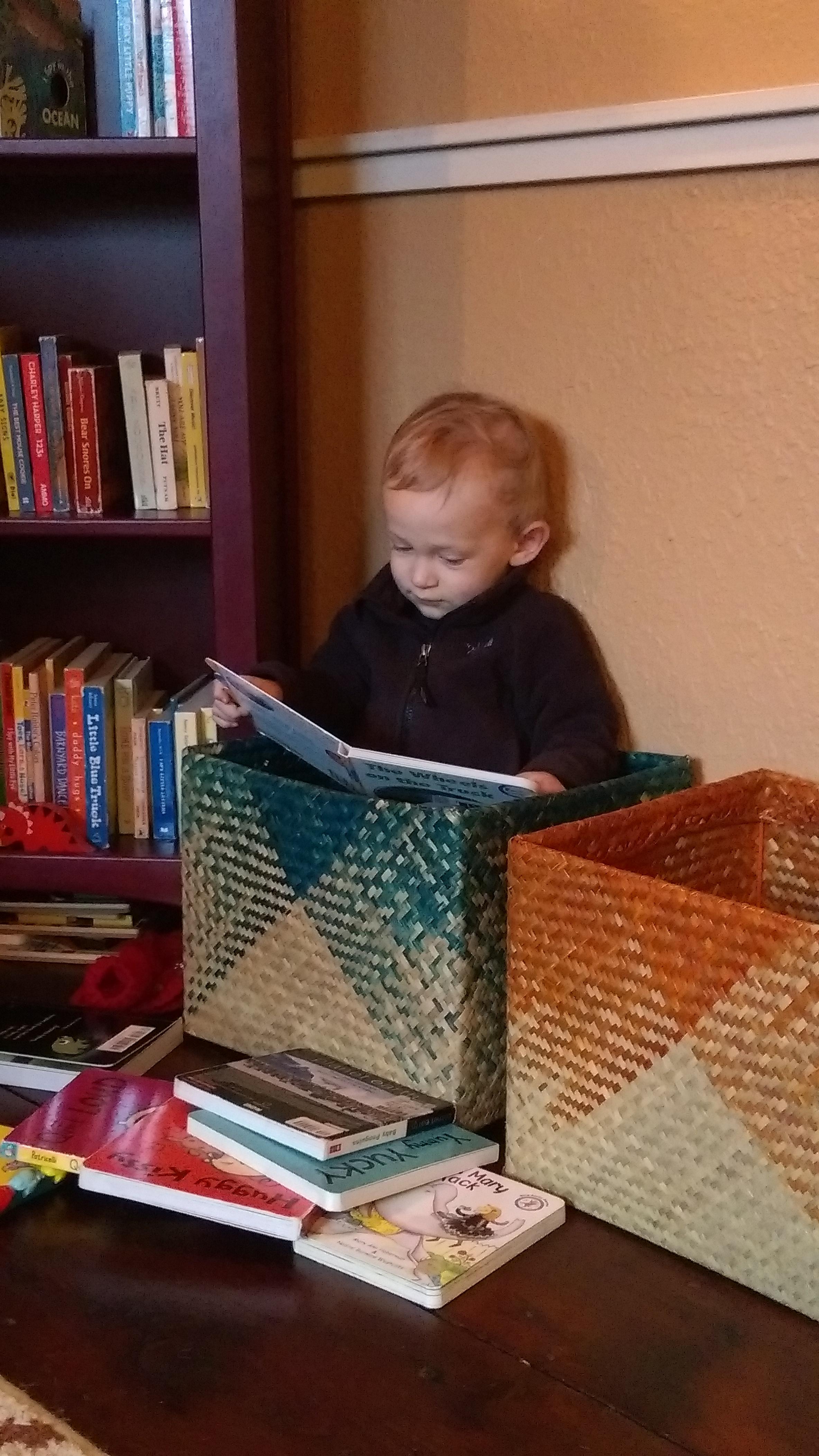 """""""I like to read"""""""