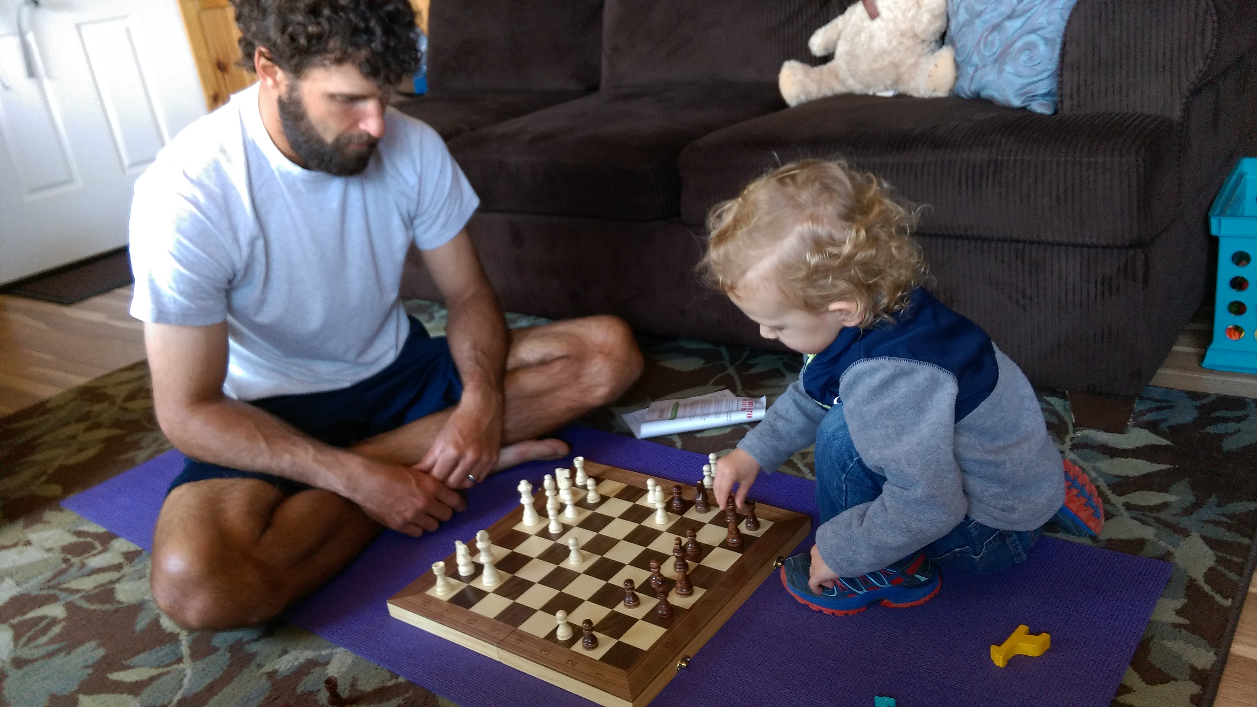 Learning Chess with Daddy